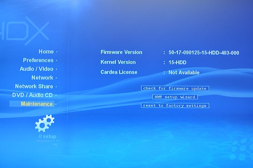 Latest official firmware installed