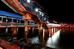 Ketapang Harbor at 02.00 AM (Theo Widharto - sheko) Tags: java nightshot banyuwangi ketapang pelabuhanketapang