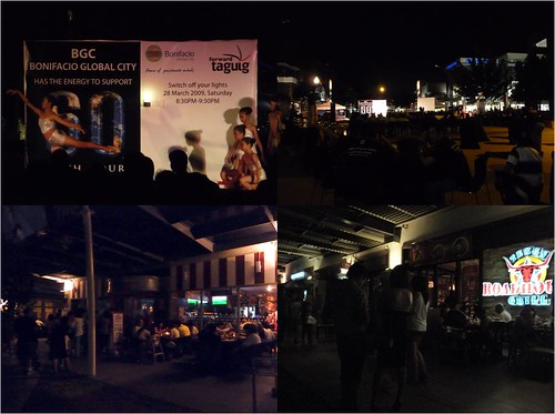 boni high street earth hour