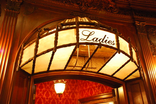 Los Angeles Theatre Ladies' Room Entrance