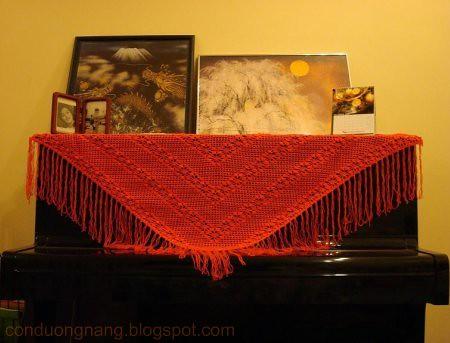 carrot shawl