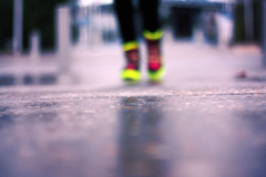 (S) Tags: brussels blur focus shoes neon belgium bokeh ground sneakers hotpink hmce hidered hardcandy3