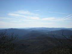 10 - View to West from Blood Mountain