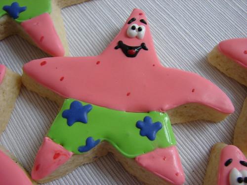 Patrick Star Birthday Cake