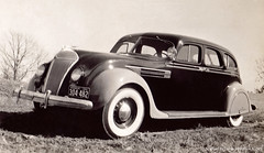 Michigan 1941-- What car is this? (newmexico51) Tags: old car 1936 vintage automobile michigan photographs fotos chrysler 1941 airflow chryslerairflow