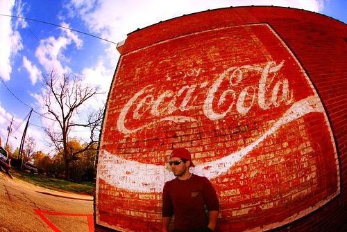 184/365 - enjoy coca-cola by B Rosen.
