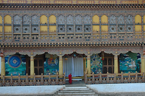 The Kuenrey of the Punakha Dzong