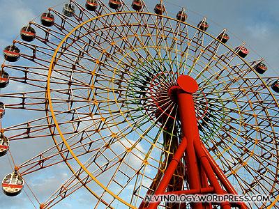 Mosaic Garden ferris wheel