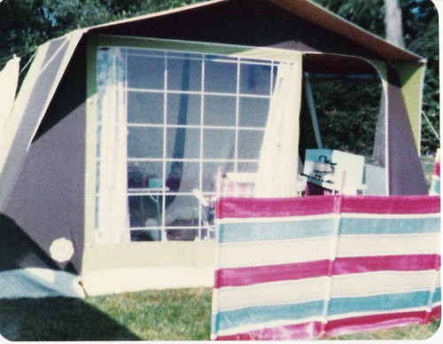 Our tent 1984