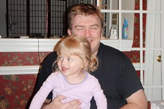 Catie & her Daddy