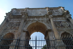 Arch of Constantine (mahteetagong) Tags: italy rome nikon arch tourist constantine tokina destination 1224mmf4 d80
