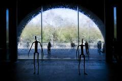 _DSC5335 (Terry.L) Tags: blue sculpture green window water yellow nikon australia melbourne ngv d300 nikond300 nikkorafs1424mmf28