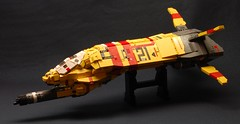 Taiidan Gunship Ver.1 (dasnewten) Tags: lego space homeworld gunship moc taiidan