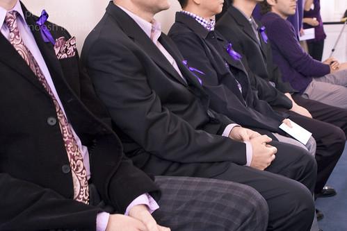 four purple ribbons copy