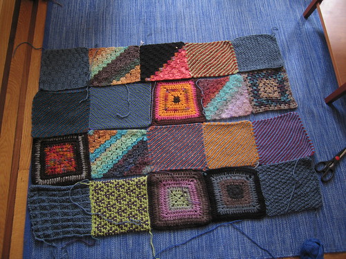 Charity Blanket Construction