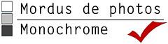 Mordus monochrome