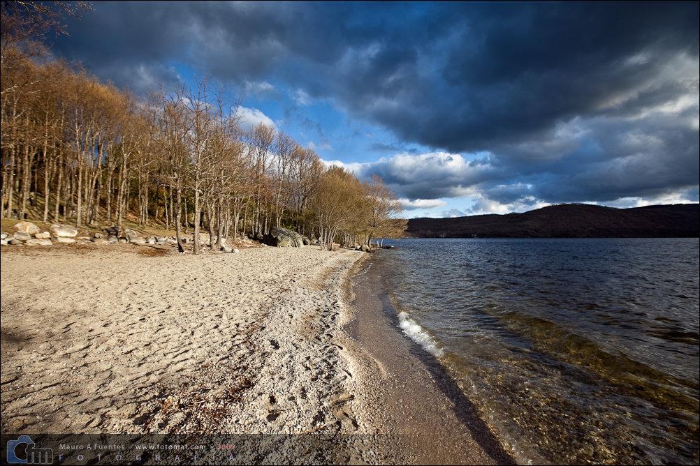 El cielo en el lago de Sanabria