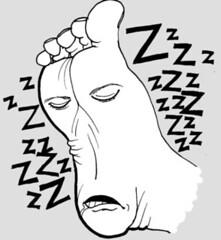 Pie_dormido