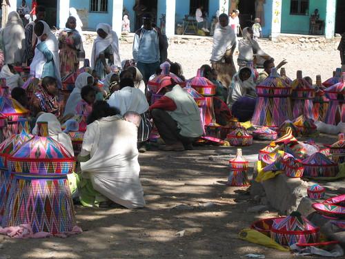Axum, basket market