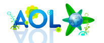 AOL Earth Day Logo