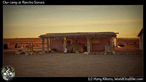 Our camp at Rancho Sonora por exposedplanet.