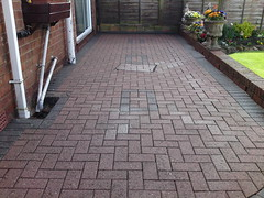Patio Just After Cleaning