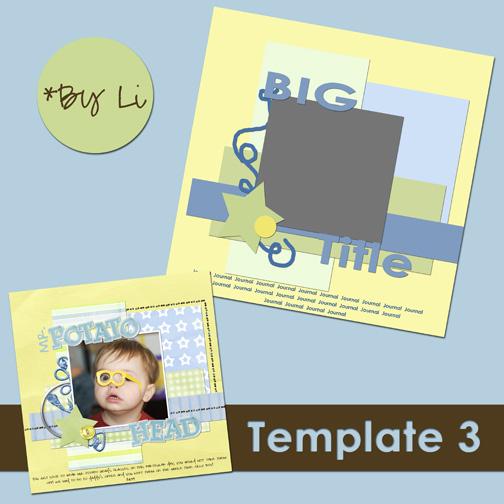 Template 3 by Li- preview_web