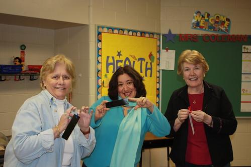 Volunteers Juanita Gittings, Irene Michaels & Thelma Morgans