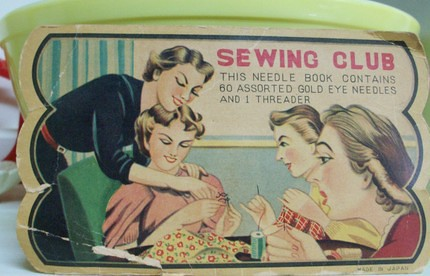 sewing club needle book