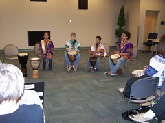 2009 National Library Week Drumming program (Broome County Public Library) Tags: newyork libraries binghamton nationallibraryweek africandrumming broomecountypubliclibrary booksprogram librariesnewyorkstate publiclibrariesyouthservicesprograms