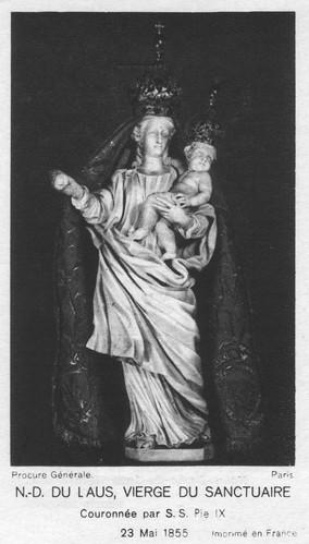 Le Laus, Vierge du Sanctuaire