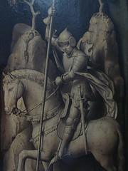 ca. 1450-1460 - 'St. George, Sforza triptych' (workshop of Rogier van der Weyden), Koninklijke Musea voor Schone Kunsten, Brussel, Belgium (roelipilami (Roel Renmans)) Tags: brussels horse saint st museum de la george triptych dragon belgique gothic fine arts royal bruxelles sint des pasture rogier workshop lance bruselas van roger der brüssel brussel armour georges joris voor triptyque paard alessandro royals atelier lans koninklijke beaux armure schone kunsten draak sforza koninklijk harnas 1450 drieluik 1460 musea triptiek slays weyden musées werkstatte doodt