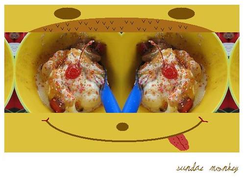 sundae monkey