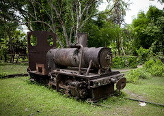 The french colonial Train in Don Khon - Laos (Eric Lafforgue) Tags: voyage travel tourism train asia colonial engine machine steam asie laos lao asean tourisme rouille donkhong  vapeur lafforgue laopeoplesdemocraticrepublic lpdr   asiedusudest socialistrepublic 0998 laosa    donedet laosz  frenchcolonialempire dhonekhone rpubliquedmocratiquepopulairelao  laosas