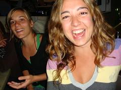Honest Laugh (CAUT) Tags: portrait woman smile laughing point island mujer retrato sony happiness australia cybershot lookout laugh qld queensland sonrisa felicidad feliz 2009 sonycybershot risa alegría straddie happyness reir pointlookout northstradbrokeisland carcajada