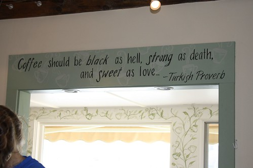Quote in Cafe