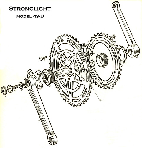 Stronglight 49-D   1960s illustration