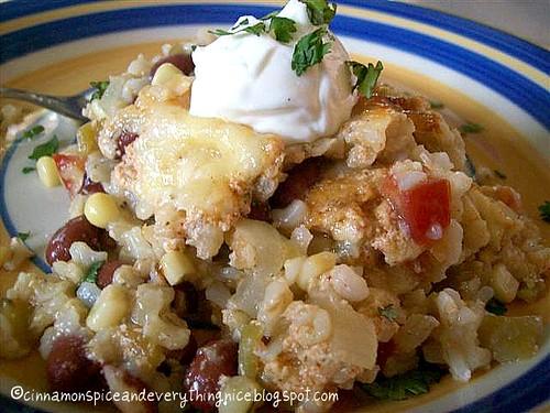 Santa Fe Style Rice & Beans