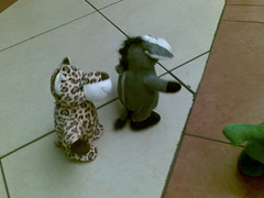 tiger and donkey - the chase