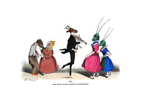 001-Les métamorphoses du jour (1869)-J.J Grandville