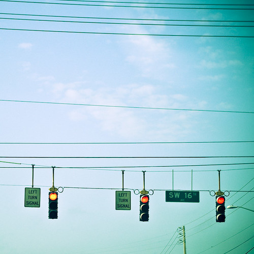left turn signal