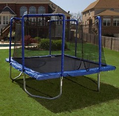 Recalled trampoline