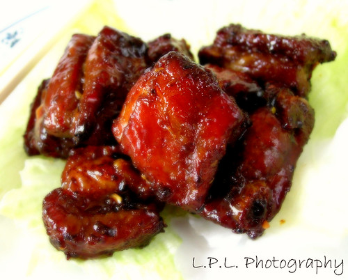 Chinese-style baked spare ribs (金沙骨) , which I've found to be ...