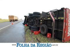 Acidente com carreta em Penpolis (Folha da Regio) Tags: acidente carreta penpolis folhadaregio