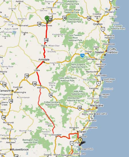 Armidale-to-Forster