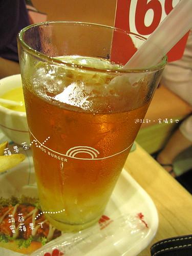 MOS蒟蒻蘋果茶