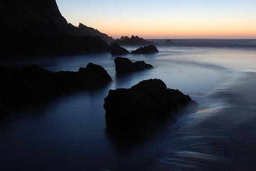 フリー画像| 自然風景| 海岸の風景| 海の風景| 夕日/夕焼け/夕暮れ| ポルトガル風景|      フリー素材|