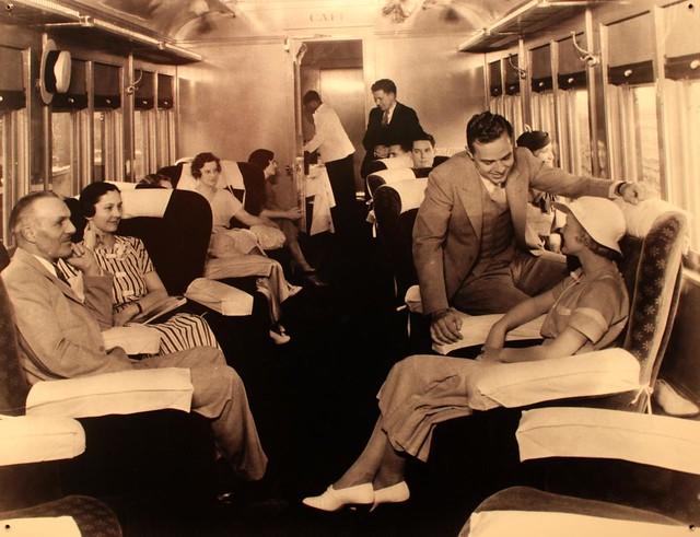 dining car, 1962