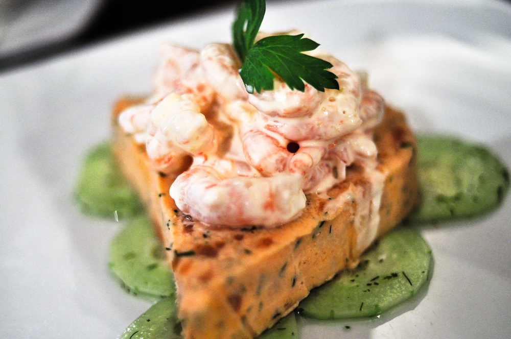 Brouge: Salmon and Prawn Pate