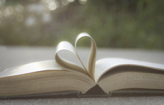 ~I Love Books~ (Laura Adams Photographic Art) Tags: sunset sunlight garden book dof heart bokeh depthoffield iheartbooks lauraadams explorewinnersoftheworld theamericantrotter johnhervey ~ilovebooks~
